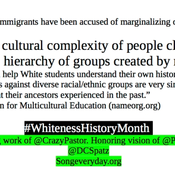 Whiteness History Month #4.6