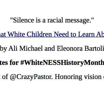 Whiteness History Month 4.7