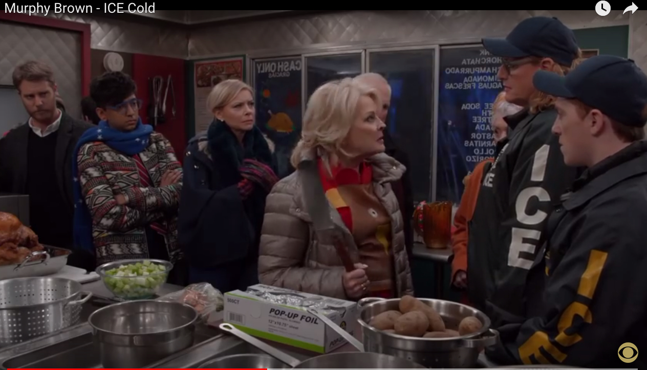#TacoTruckTerry and the Spatula Threat: Murphy Brown, Privilege, and Police